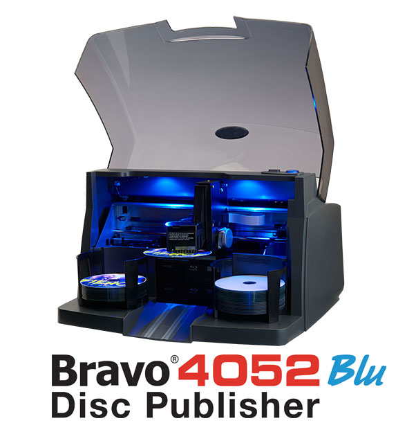 Bravo 4052 Blu Disc Publisher