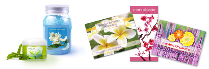 Cosmetic Personal Care labels