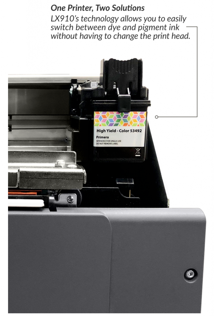 Print Your Own Short Run Product Labels Prints up to 8.25 Wide Primera LX910 Color Label Printer 74416